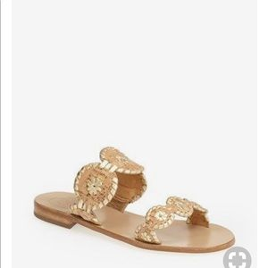 NEW • Jack Rogers • Lauren Sandals Cork Leather